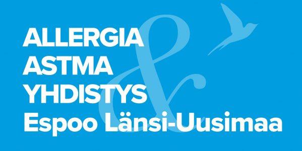 ALLERGIA- JA ASTMAYHDISTYS Espoo ja Länsi-Uusimaa ry